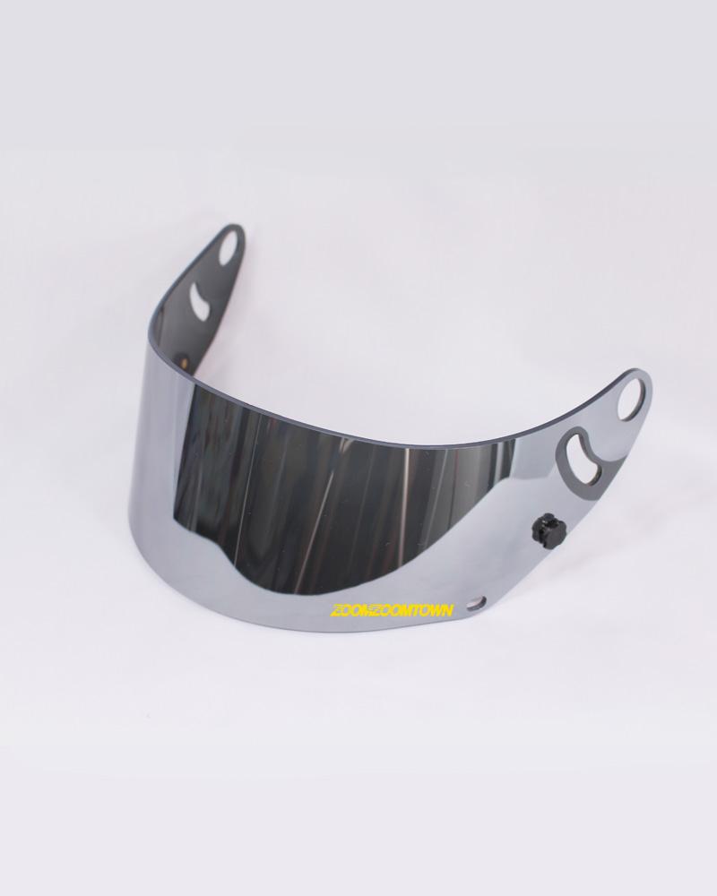 Arai iridium silver mirror visor gp6 series zoomzoomtown for Mirror visor